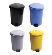 Çöp Kovası Pedallı 30 Litre, 4 Renk